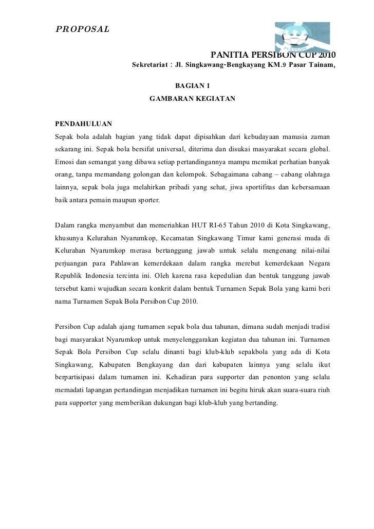Contoh Surat Undangan Sparing Volly Surat 27