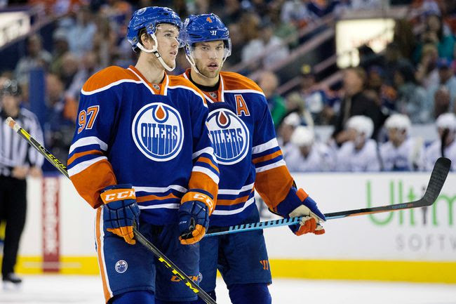 Image result for Taylor Hall connor mcdavid