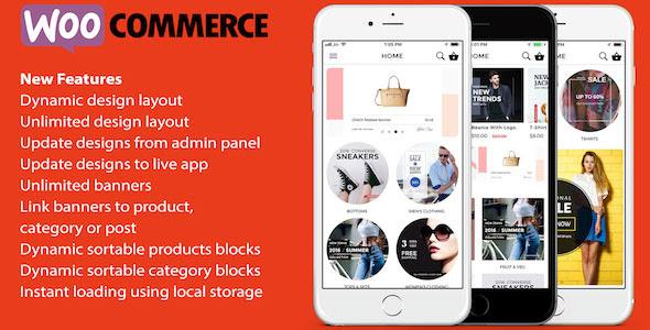 ionic 3 App for WooCommerce v4.5 - free download gratis terbaru