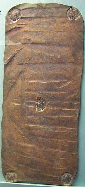 File:Swedish plate money in the British Museum.jpg