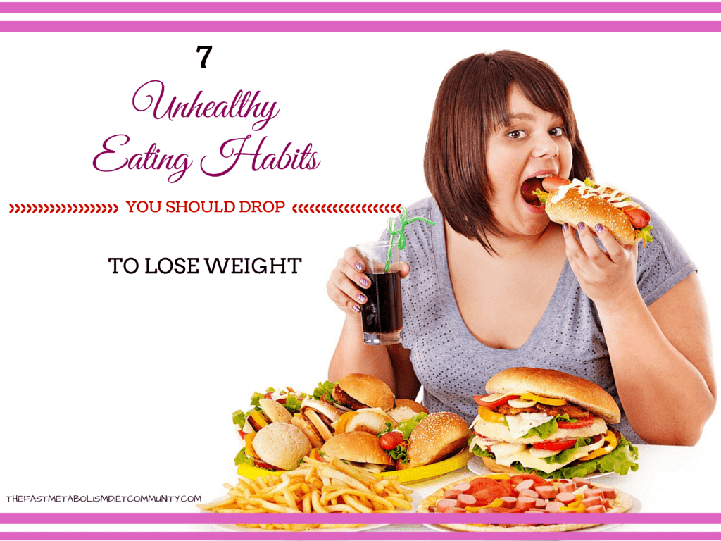 Cut These UNHEALTHY Habits And Lose Weight Without Problems