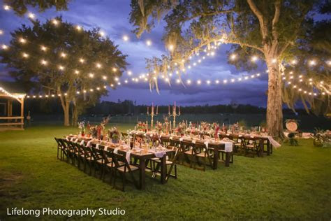 Sunny Acres Lodge   Polk City Florida   Rustic Wedding Guide