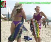 Isadora Ribeiro sensual na novela Mulheres de Areia
