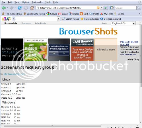 Blogger: Расписание производства скриншотов