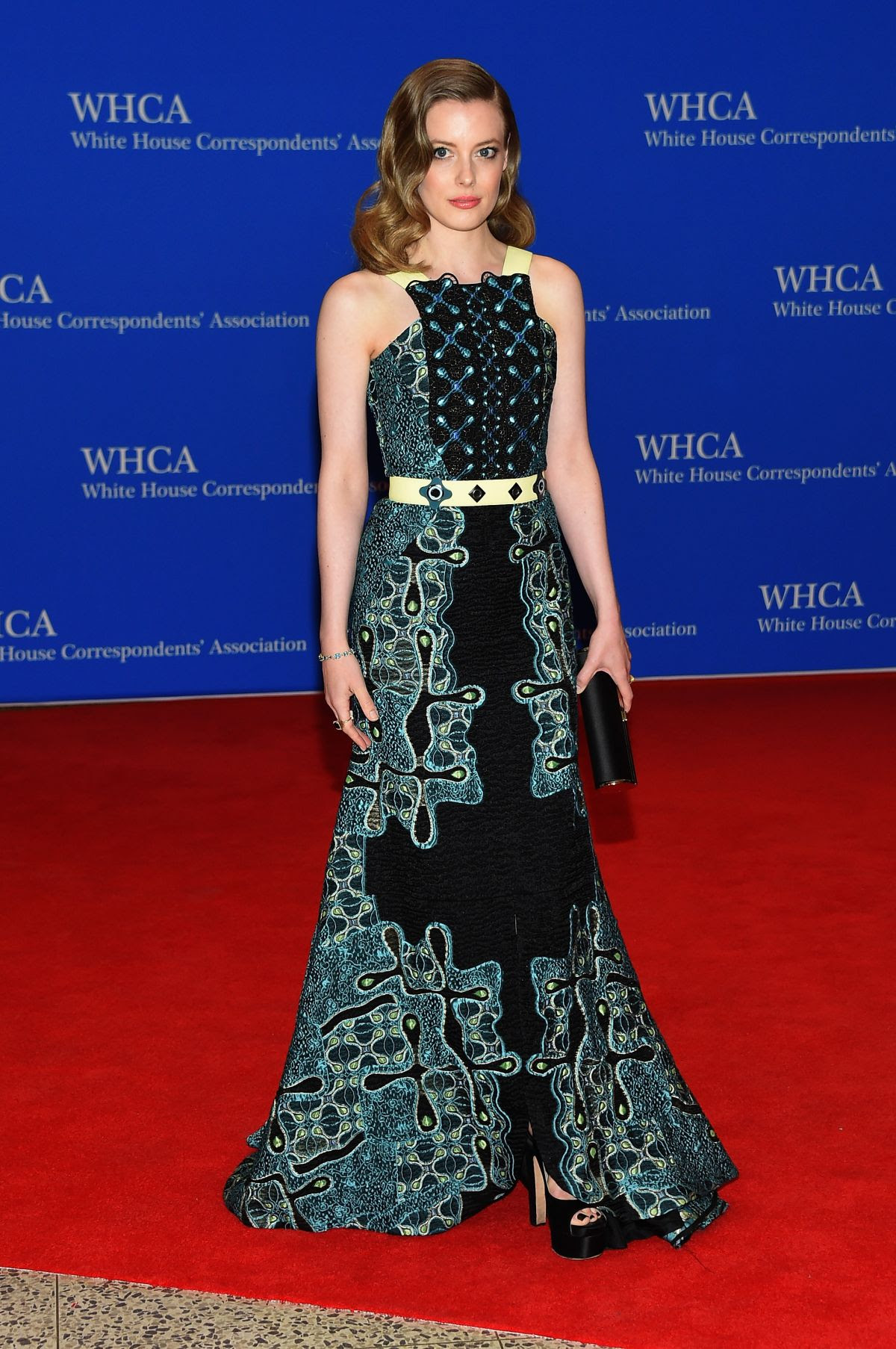 GILLIAN JACOBS at White House Communications Agency Dinner in Washington