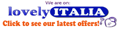 Hotels & accommodation in Italy sorted by locality