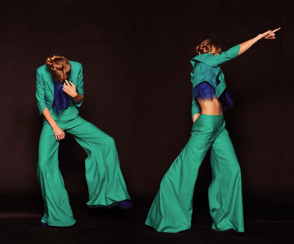 Catherine Calvert Studio Fashion Shoot with Movement, shots 5 and 6  Model, Jazz Brell -GreenCaloutsV3c_339