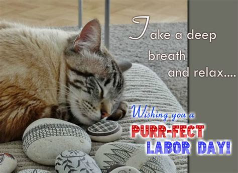 Take A Deep Breath And Relax! Free Happy Labor Day eCards