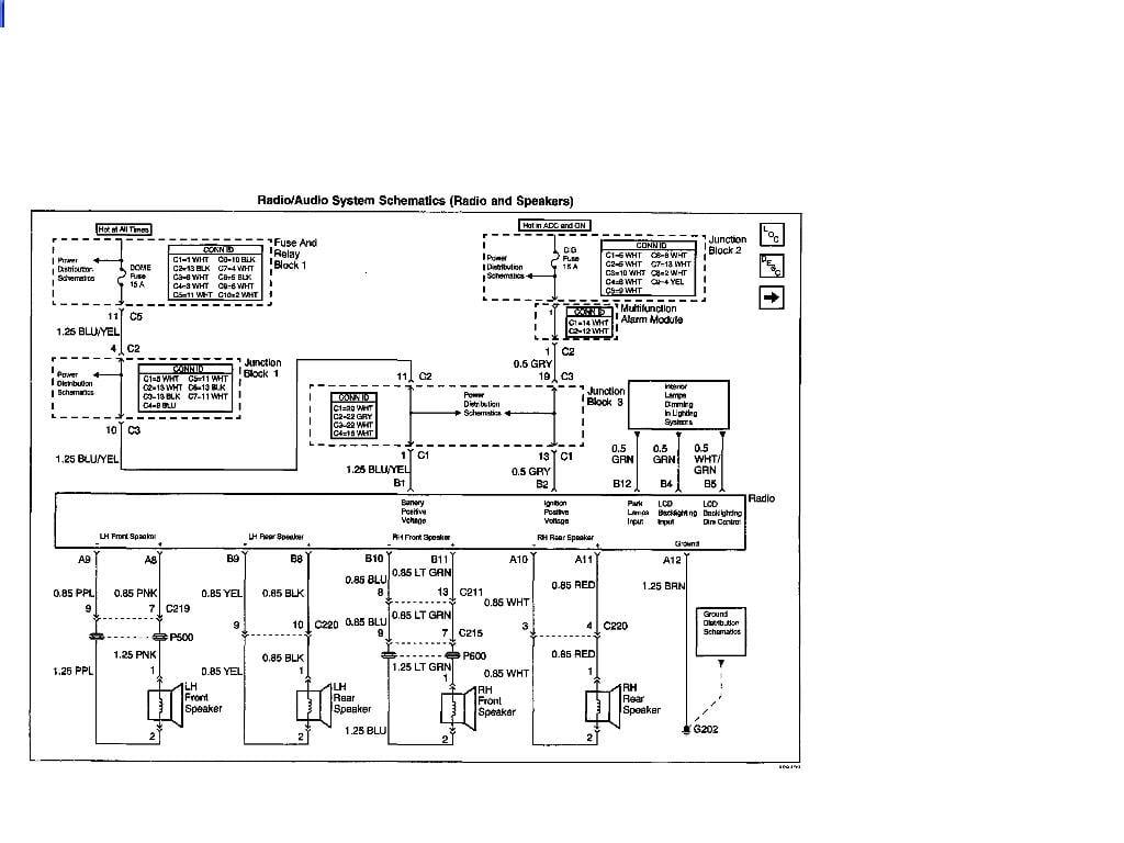 2002 Pontiac Sunfire Wiring Diagram