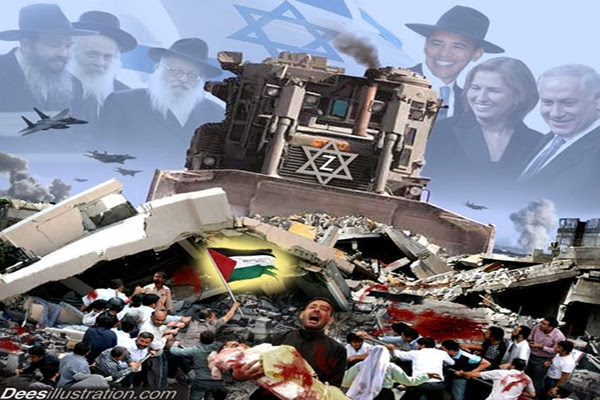 Censori sionisti che consentano crimini di guerra