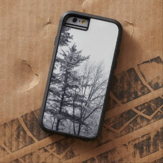 Snow-covered Trees: Vertical iPhone 6 Tough case Tough iPhone 6 Case