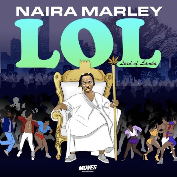 "NAIRA MARLEY UNVEILS ARTWORK AND TRACKLIST FOR HIS DEBUT EP""LOL"""
