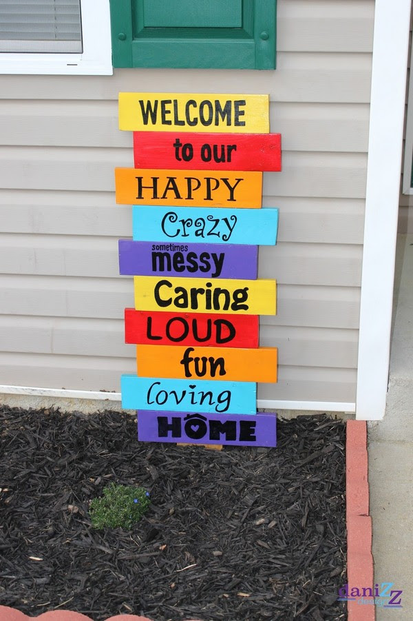 20 Easy Front Porch Diy Sign Ideas For Your Home The Art In Life