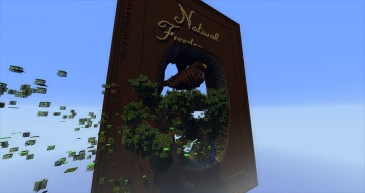 Natural Freedom Book With Nature Minecraft Building Inc