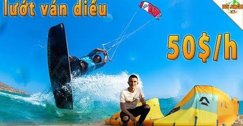 Lướt Ván Diều ở Ninh Chữ - Ninh Thuận 50$/h có nên thử hay không?