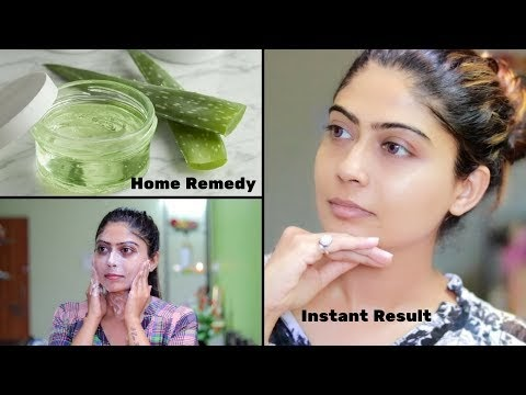 How To Do Aloe Vera Facial For Clear, Glowing And spotless Skin