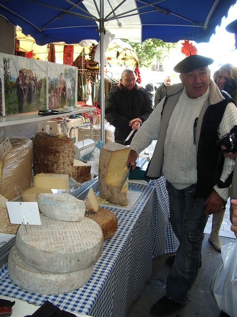 Fromage at the Marché