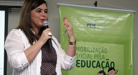 Cláudia Santa Rosa na Educação do RN