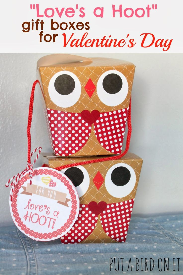 "Put A Bird On It: My Love Monday ... ""Love's A Hoot"" Valentine's Day Printable"