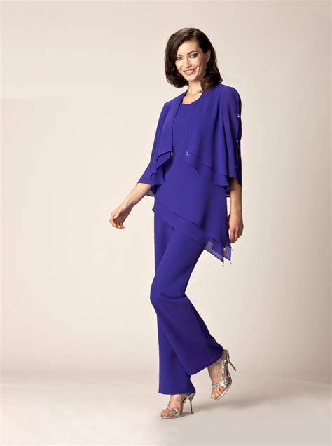 purple mother   bride pant suits summer formal