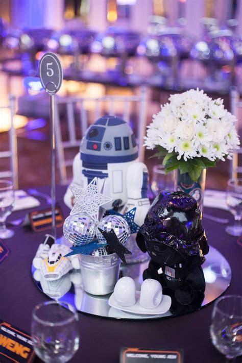 Kara's Party Ideas Blue and Silver Star Wars Birthday