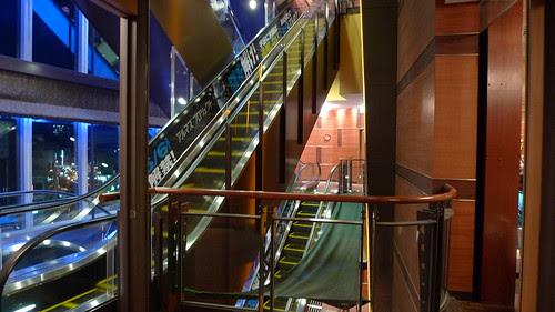Wald 9 escalators