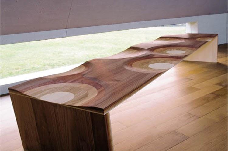 Unique Wood Furniture At The Galleria