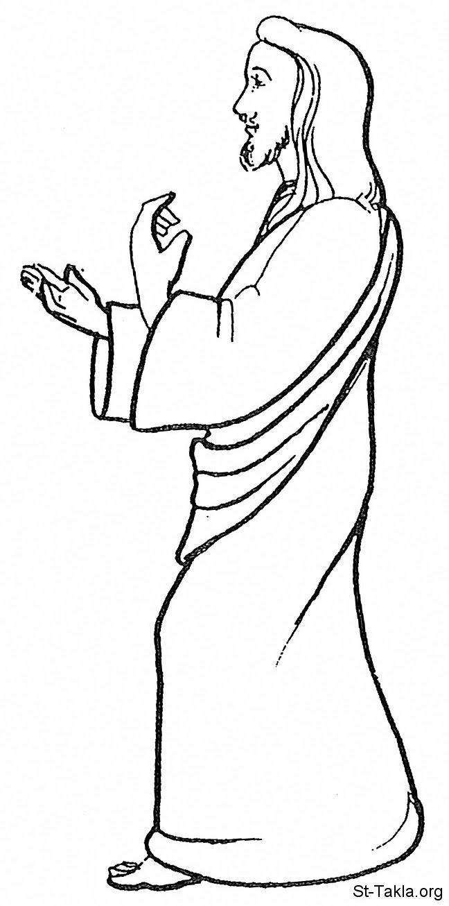 www St Takla org  Jesus Walking 10