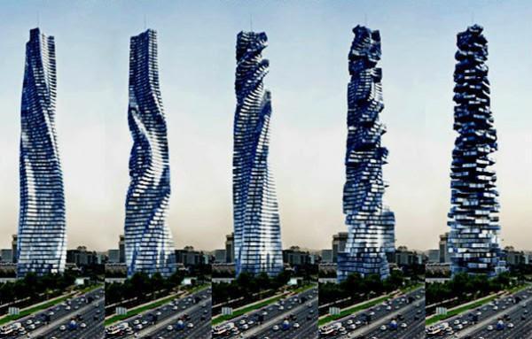 To πρώτο κτίριο στον κόσμο που θα κινείται – Θα προσαρμόζεται στον ήλιο, στον άνεμο και τη θέα!