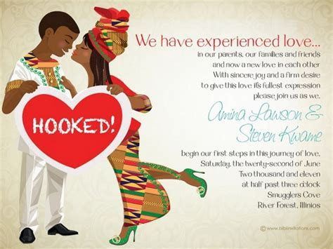10 African Wedding Invitations Designed Perfectly