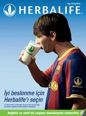 Herbalife product brochure Cover TU Turkey Turkiye