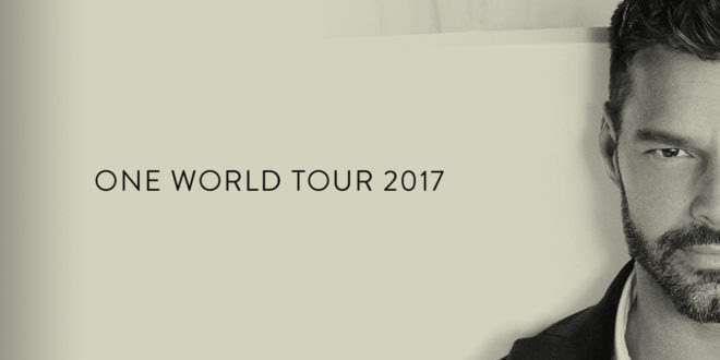 RICKY MARTIN | ONE WORLD TOUR