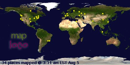 Profile Visitor Map - Click to view details
