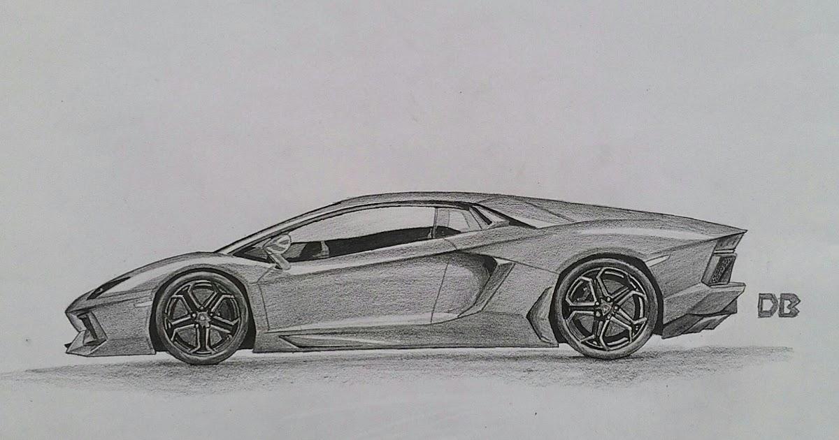 33 Top Sketsa Gambar Lamborghini Terlengkap Hobisket