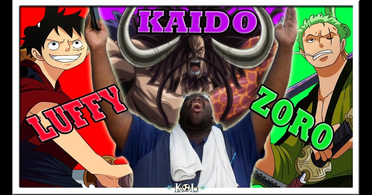 King Of Lightning Kaido Baby Shakes Team Luffy Zoro One Piece Manga Chapter 911 912 Double Live Reaction ワンピース Tv Channel Tips