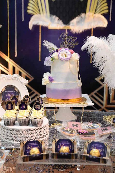 Kara's Party Ideas Great Gatsby Old Hollywood Birthday