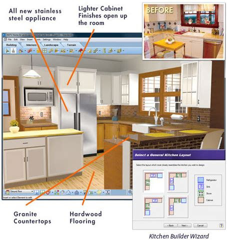 kitchen design software virtual architect
