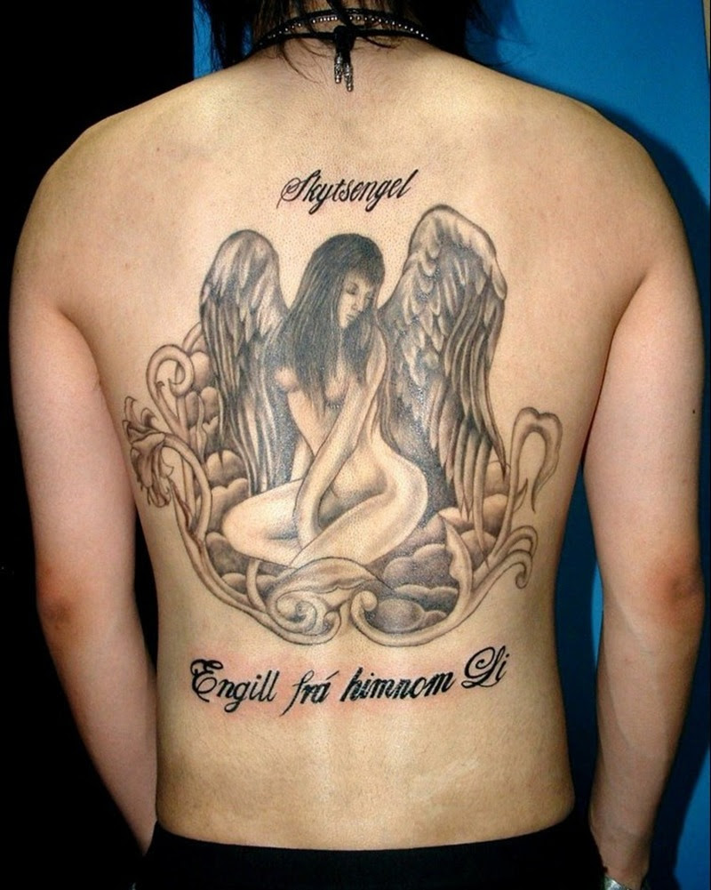 Back Angel Wing Tattoos Girls Tattoos Book 65000 Tattoos Designs