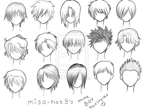 cabelos manga  anime art