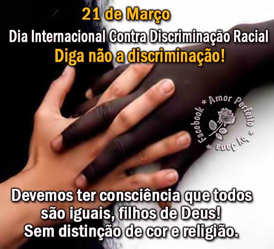 Dia Contra a Discriminação Racial Imagem 1