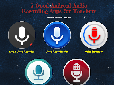 5 Good Audio Recording Apps for Teachers Using Android in Their Instruction