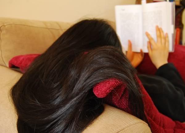 Sofa and Book