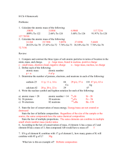 26 Chapter 4 Atomic Structure Worksheet Answers ...