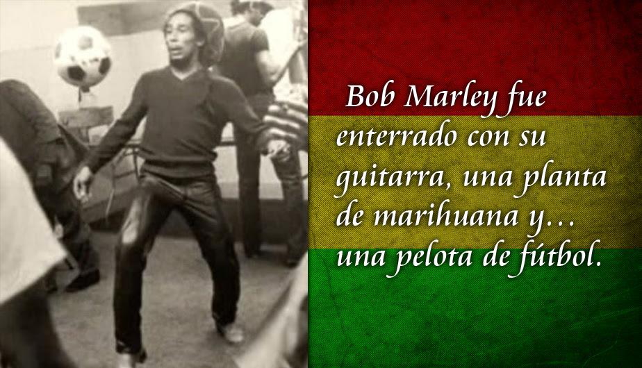 Bob Marley Y Las Mejores Frases De Su Amor Por El Futbol Fotos