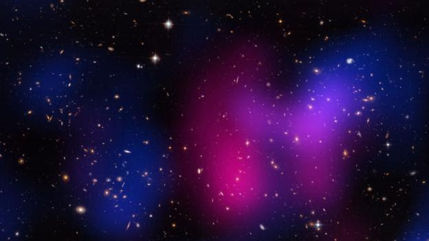 "The ""Musket Ball"" galaxy cluster (Credit: NG Images/Alamy Stock Photo)"
