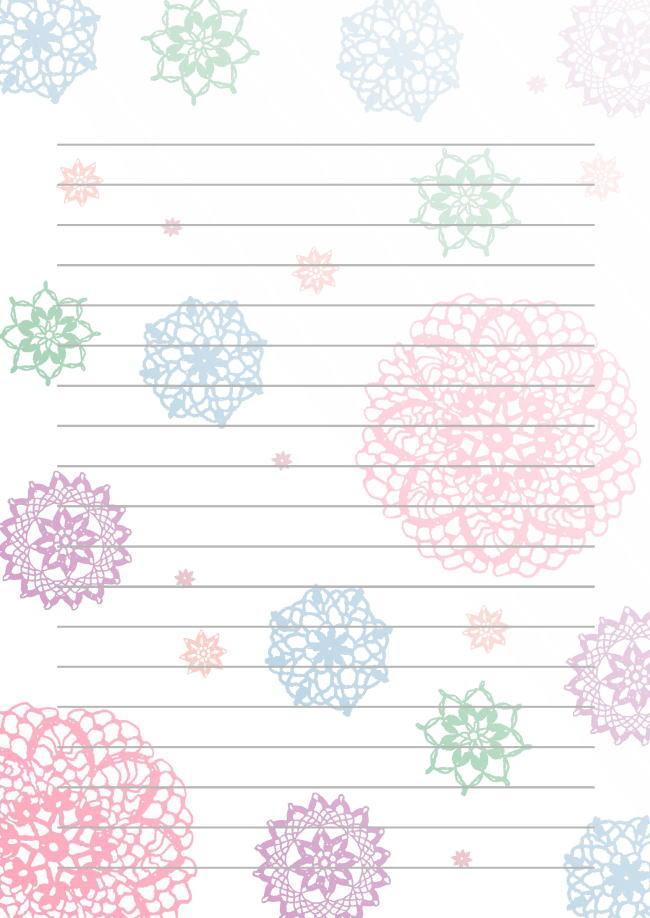 画像 シンプルかわいい使えるフリー便箋まとめ Naver まとめ
