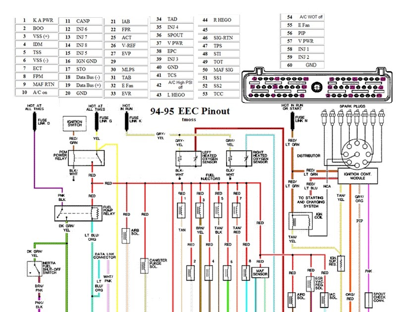 99 04 Mustang Wiring Diagram - Wiring Diagram Networks