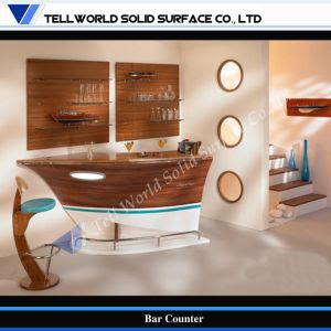 Fancy Boat Style Small Home Modern Bar Counter Design, Home Bar ...