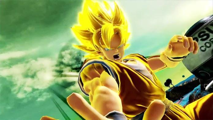 Transformações também farão parte do jogo, como Goku em seu modo Super Sayajin (Foto: Reprodução/YouTube)
