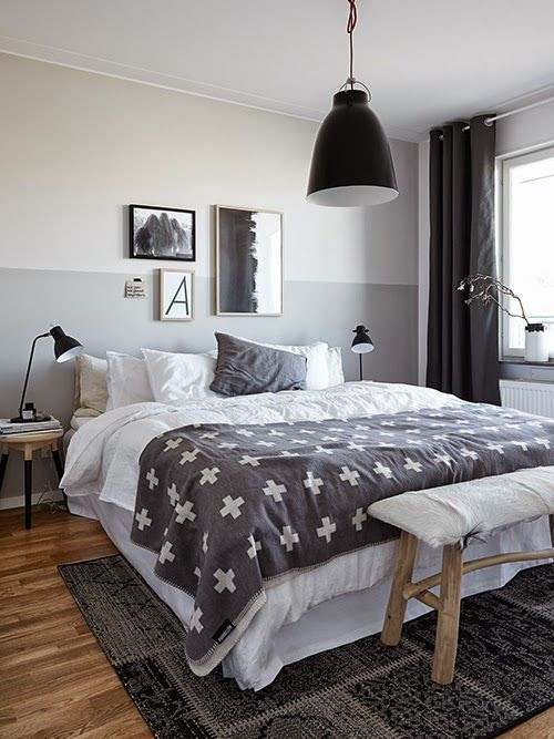 Chic Half Painted Walls That You Will Have to See